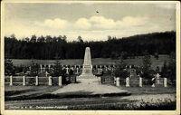 Stetten a.k.M. um 1920/30 alte Postkarte Partie am Soldaten Gefangenen Friedhof