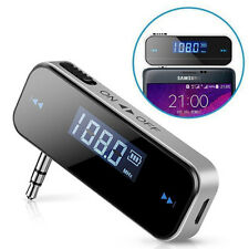 Digital Bluetooth Wireless FM Transmitter MP3 Player Handsfree USB Car Kit UK