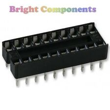 10 x brand new 20 broches DIL DIP IC Sockets - 1er classe post