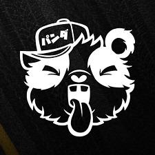 'THE YOBBO PANDA' JDM Bumper Sticker Decal Japan Drift Stance Funny Animal