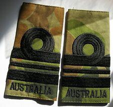 a pair of Camouflage SRI LIEUTENANT COMMANDER Epaulettes - Royal Australian Navy