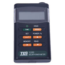TES Handheld Portable Solar Power Irradiance Meter, Solar Power Radiation M P2Y6