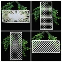 Slimline Layering Stencils For DIY Scrapbooking Embossing Paper Cards Crafts
