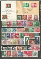 DDR 1956  gestempelt kompletter Jahrgang +Blockmarke-SUPER-Stempel- Brief ZUGABE