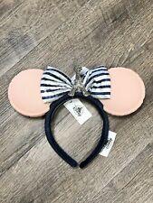 Disney Epcot World Showcase France Macarons Minnie Ear Headband - New