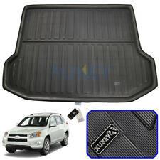 For Toyota RAV4 RAV 4 2006-2012 Rear Trunk Boot Cargo Liner Floor Mat Carpet