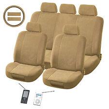 Plush Classic 12-piece Automotive Seat Cover Set