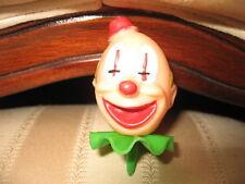 lot of 19 pc Vintage Cupcake, Cake Topper, Circus, Clown head, Balloon, Decor