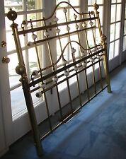 used brass king bed   eBay