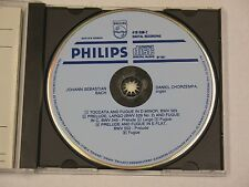 Bach Toccata & Fugue CD Philips West Germany with blue face Chorzempa