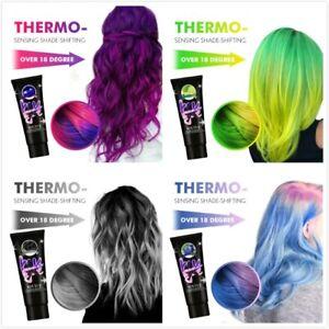 Thermochromic Color Changing Hair Dye Popular Color Number Purple Hair Color