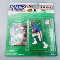 Eddie George NFL Starting Lineup Figure & Card 1997 Houston Oilers SLU