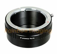 Pentax PK lens to Sony E-Mount A7 A7R A7S II III IV Mirrorless Camea adapter