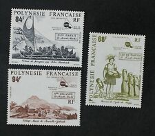 CKStamps: France Stamps Collection French Polynesia Scott#560-562 Mint NH OG