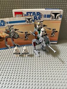 Lego Star Wars Clone Trooper Battle Pack Set 8014, Box & Instructions