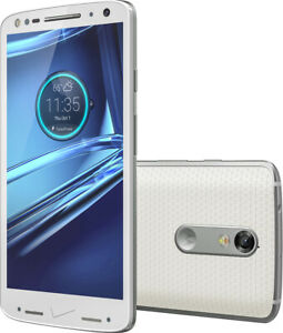 NEW! Motorola Droid Turbo 2 32GB White (Verizon/GSM Unlocked) VoLTE Smartphone