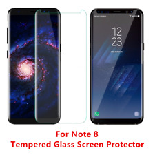 12 Pack Anti Scratch For Samsung Galaxy Note 8 Tempered Glass Screen Protector C