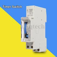 AC110V/220V SUL180a 15 Minutes Mounting Programmable Din Rail Timer Relay Switch