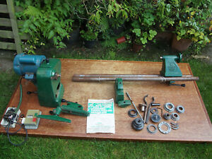 Record Coronet Lathe, Good Working Order With Accessories