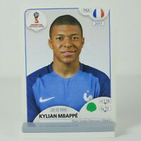 Kylian Mbappe Panini World Cup Russia 2018 Football Rookie Sticker #209 France