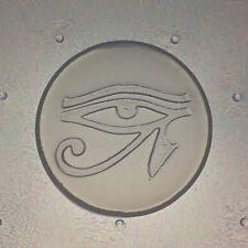 Small Flexible Resin Egyptian Eye Of Horus Mold 35mm Diameter