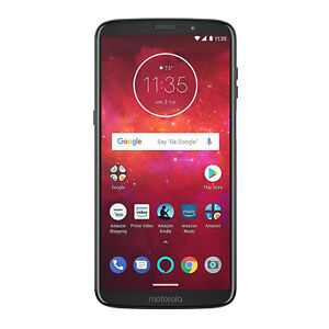Motorola Z3 Play 32GB Unlocked (AT&T/Sprint/T-Mobile/Verizon) (Deep Indigo)