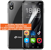 "K-TOUCH I9 3gb 32/64gb Quad Core 13mp Face Id 3.5"" Hd Android 8.0 Lte Smartphone"