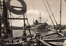 * BARLETTA - Navi in porto - Nave San Denis 1958