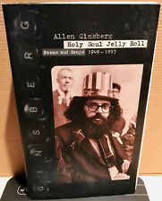 RHINO 4-CDs Box R2-71693: Allen Ginsberg - Holy Soul Jelly Roll - 1994 USA
