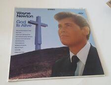 WAYNE NEWTON GOD IS ALIVE VINYL LP HIS AMAZING GRACE, WERE YOU THERE?