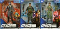 GI JOE : Classified Series Lot of 3 26 Flint 25 Lady Jaye 06 Cobra Commander NIB