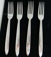 Reed & Barton Set of 4 Dinner Forks