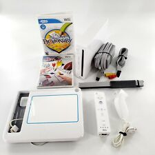 Nintendo Wii White Console Bundle w/ 2 Games, Controllers, Cables Tested & Works