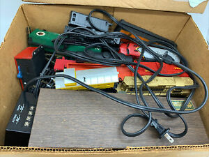 H0 Train Lot Lots Of Trains, Track, Engines, Elect Switch, Transformer Huge Lot