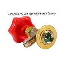 "Car M14/1/4"" SAE R134a Air Refrigerant AC Can Tap Valve Bottle Opener Kit UTRD"