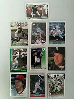 Carlton Fisk - Lot of 10 -  Chicago White Sox - Excellent/Mint Condition - AS IS