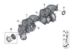 BMW E90 E92 E93 135i 335i 306HP x2 Turbo Turbocompresseur 11657649289 11657649291