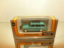 USSR CCCP RUSSIAN CAR LADA? GAZ 2102  - LIGHT BLUE 1:43 - VERY GOOD IN BOX