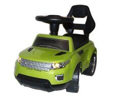 Rutschauto Rutscher Bobby car Kinderfahrzeug mit Licht vorne & Soundeffekte Grün