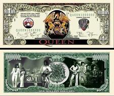 QUEEN . Million Dollar USA . Billet de commémoration / Collection