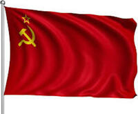 Giant USSR Soviet Union Communist Russian Red National Hammer & Sickle Flag