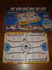 Vintage Russian HOCKEY Table Top Board Game russian blue red team pool