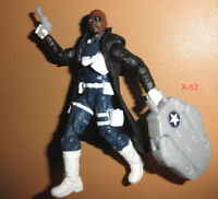 AVENGERS assemble SGT NICK FURY figure AGENT of SHIELD toy Marvel Universe