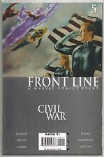 Civil War : Front Line #5, Marvel comic book from August 2006