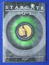 Map from Prophecy STARGATE SG1 Season 8 Relic Prop Card