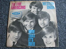 The Five Americans-Western Union 7 ps-1967 Germany-Rock-BEAT - 45 giri/min-Vogue