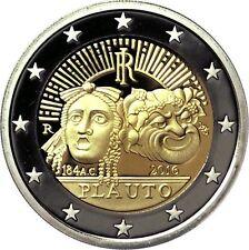 ITALIA 2 EURO 2016 - CONM. 2200 ANIV. DE LA MUERTE DE PLAUTO - SIN CIRCULAR