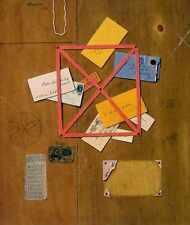 Letrero de metal de los artistas Carta Rack A4 12x8 Aluminio