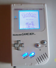 Nintendo Gameboy Original Handheld System  White - Model DMG - 01 LED SCREEN