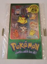 pokemon Topps SUPERSIZE Booster de 5 cartes 1998/2000